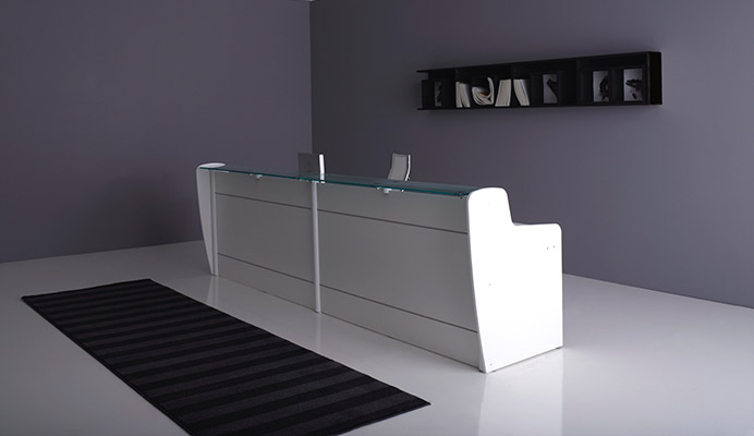 Bancone Reception Per Ufficio : Arredo metallico ufficio armadi e banconi metallici moderni e