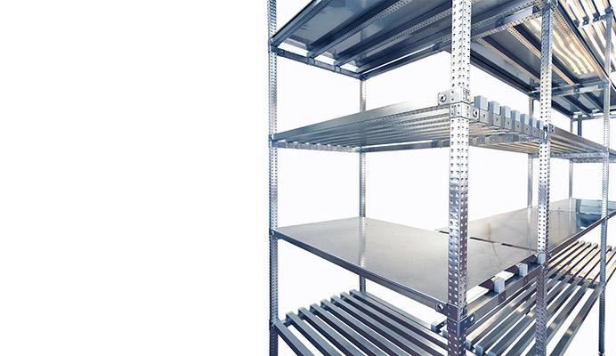 Scaffalature In Metallo Componibili.Scaffalature Metalliche In Acciaio Inox Scaffali Componibili