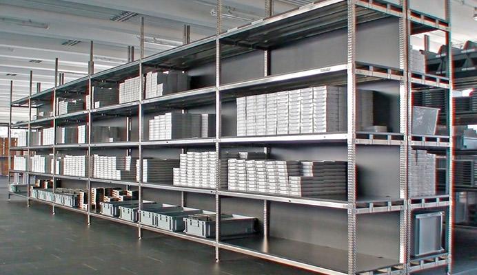 Scaffalature metalliche in acciaio inox scaffali componibili - Cucine seconda mano milano ...
